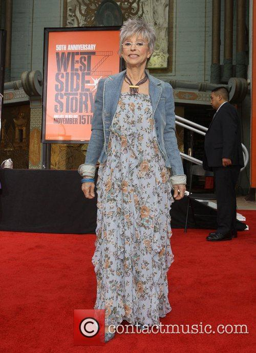Rita Moreno and Grauman's Chinese Theatre