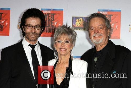 George Chakiris, Rita Moreno, Russ Tamblyn and Grauman's Chinese Theatre