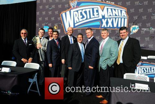 Emilio Estefan, Dan Marino, John Cena and Vince Mcmahon