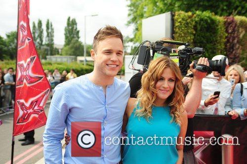 Olly Murs and Caroline Flack 1