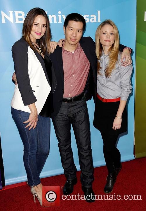 Bree Turner, Reggie Lee and Claire Coffee