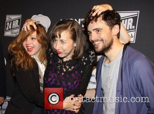 Amber Tamblyn, Kristen Schaal and Vincent Piazza