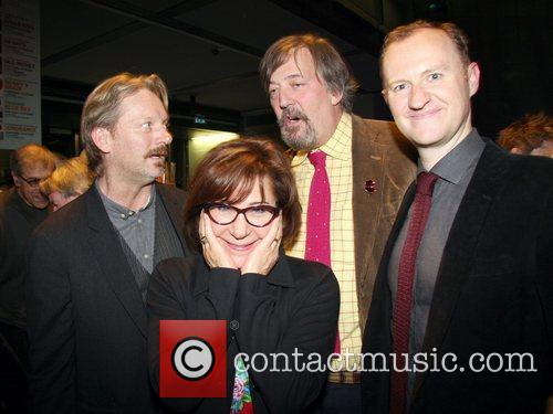 Mark Gatiss, Douglas Henshall, Zoe Wanamaker and Stephen Fry