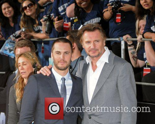 Taylor Kitsch and Liam Neeson 2