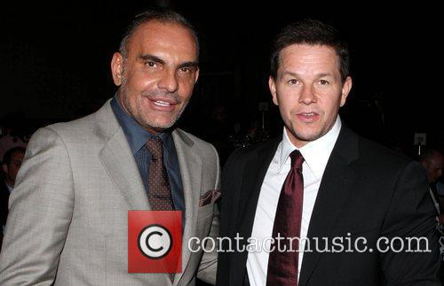 Christian Audigier and Mark Wahlberg