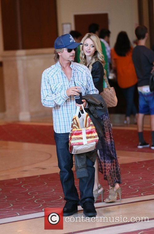 David Spade and Jillian Grace