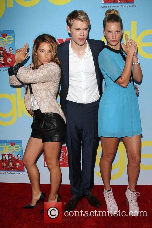 Vanessa Lengies, Chord Overstreet and Heather Morris