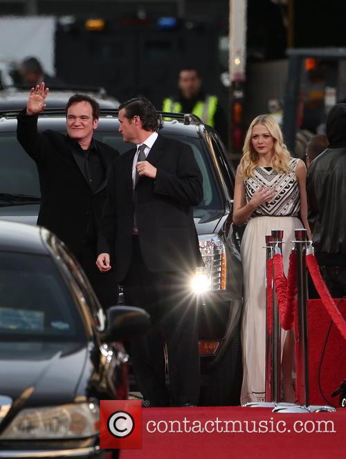 Quentin Tarantino and Beverly Hilton Hotel