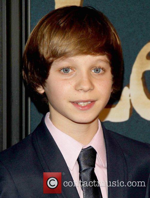 Daniel Huttlestone and Ziegfeld Theatre 1
