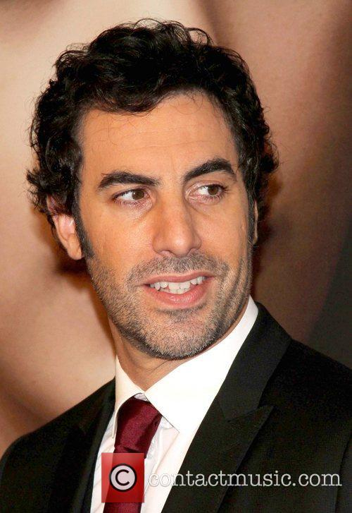 Sacha Baron Cohen and Ziegfeld Theatre
