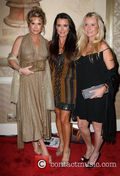 Kathy Hilton, Kim Richards and Kyle Richards
