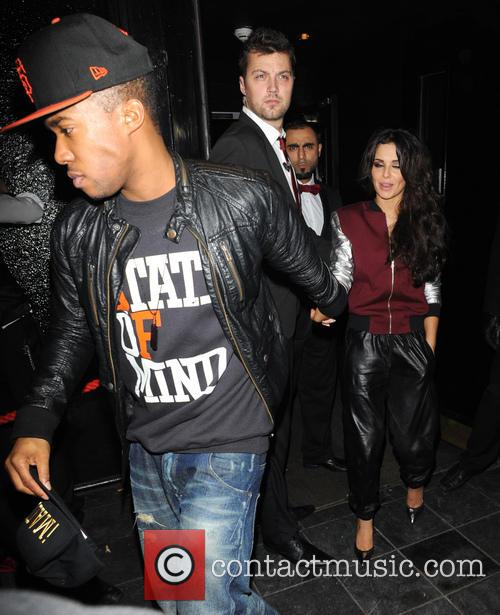 Cheryl Cole and Tre Holloway 1