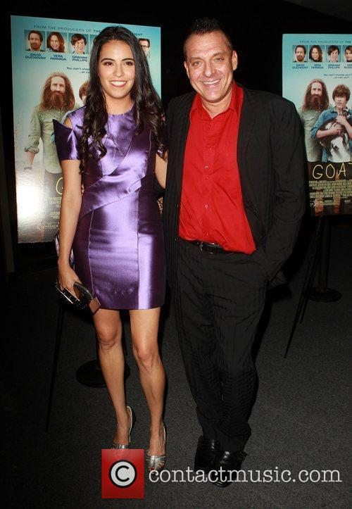 Olga Segura and Tom Sizemore