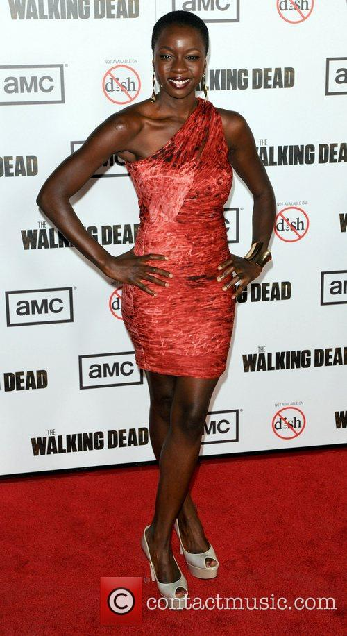Danai Gurira and Michonne