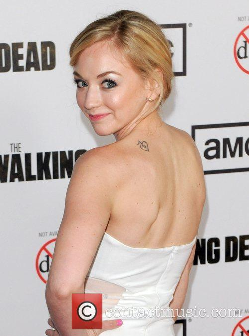 Emily Kinney and Beth