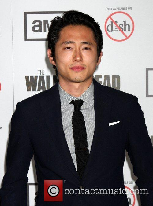 Steven Yeun and The Walking Dead 1