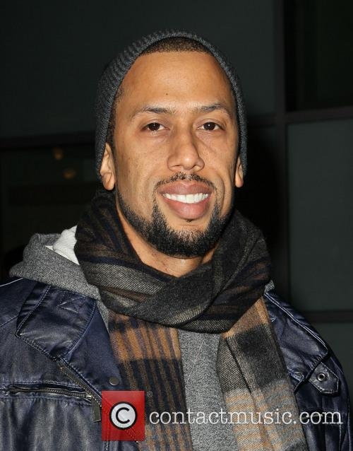Affion Crockett A Haunted House Premiere held at...