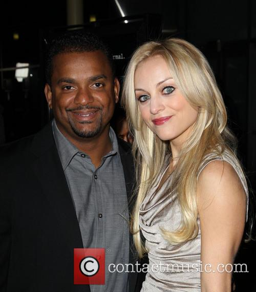 Alfonso Ribeiro; Angela Unkrich A Haunted House Premiere...