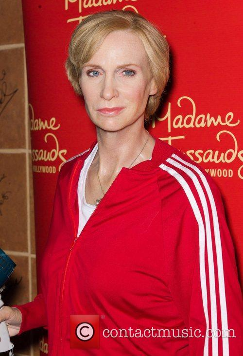 Jane Lynch and Madame Tussauds