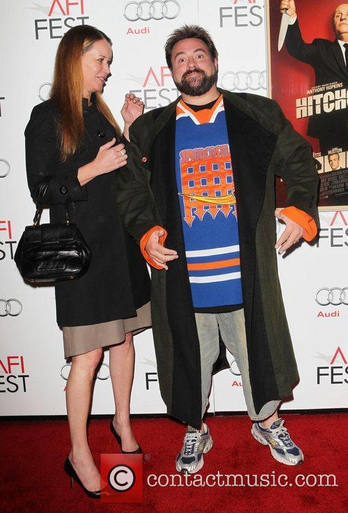 Kevin Smith, Jennifer Schwalbach Smith and Grauman's Chinese Theatre 4