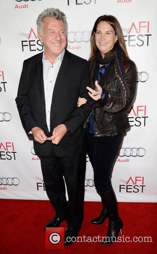 Dustin Hoffman, Lisa Hoffman and Grauman's Chinese Theatre 3