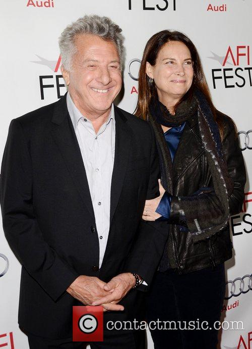 Dustin Hoffman, Lisa Hoffman and Grauman's Chinese Theatre 11