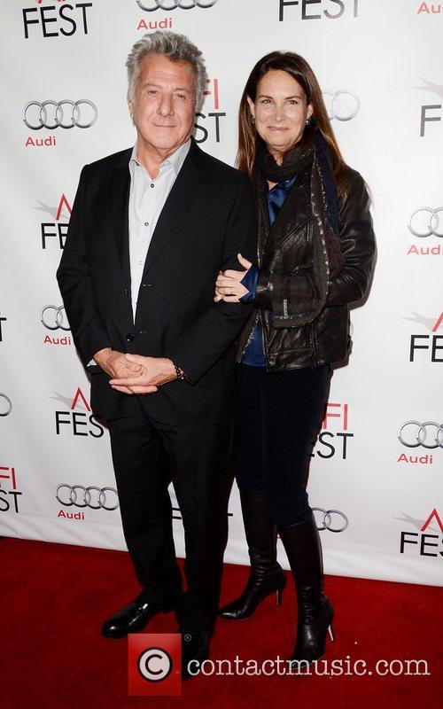 Dustin Hoffman, Lisa Hoffman and Grauman's Chinese Theatre 1