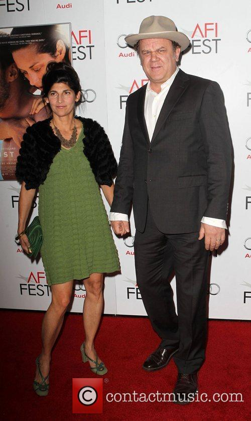 John C. Reilly, Alison Dickey and Grauman's Chinese Theatre 2