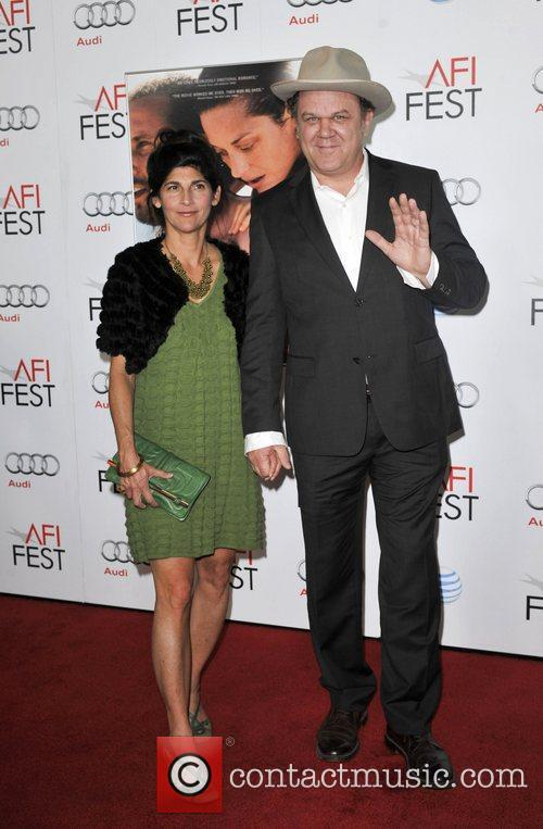 John C. Reilly, Alison Dickey and Grauman's Chinese Theatre