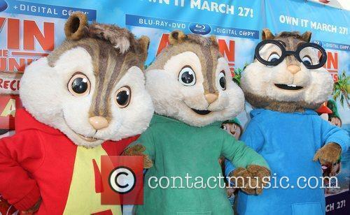 Alvin & The Chipmunks and El Rey Theatre 1