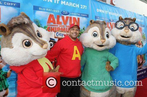 Alvin & The Chipmunks and El Rey Theatre 3