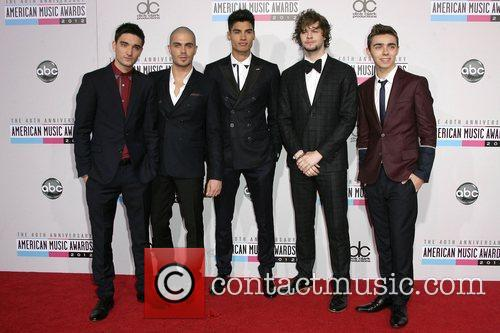 The Wanted and American Music Awards 1