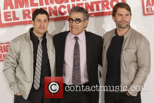 Jason Biggs, Eugene Levy and Seann William Scott 2