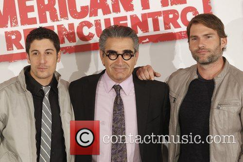 Jason Biggs, Eugene Levy and Seann William Scott 1