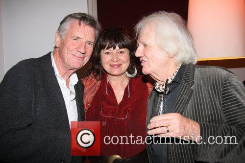 Michael Palin, Dora Bertolutti Howard and Ken Howard