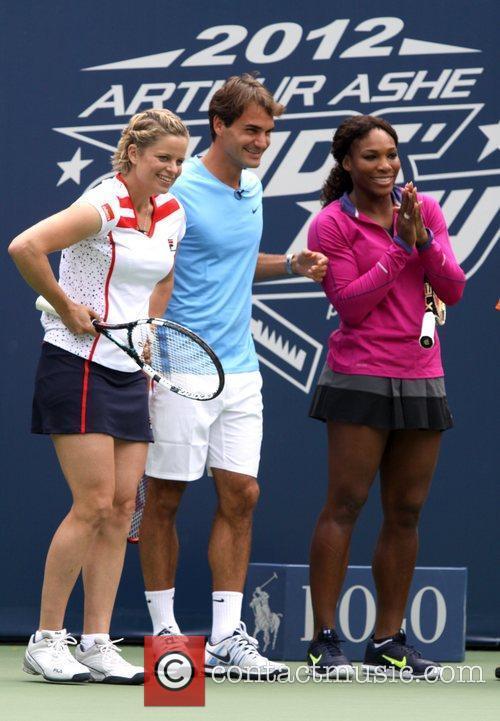 Roger Federer and Serena Williams 2