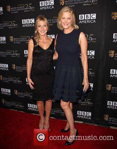 Edie Falco and Anna Gunn