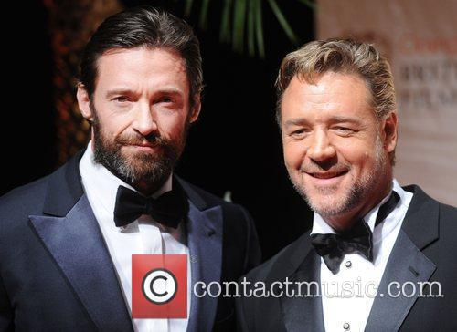 Hugh Jackman, Russell Crowe and Bafta