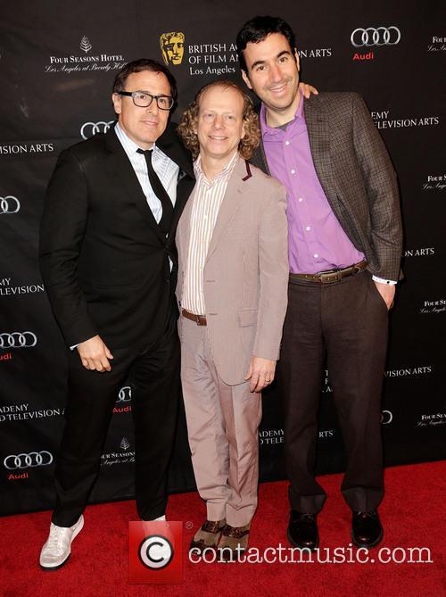 Director David O. Russell, Bruce Cohen and Jonathan Gordon