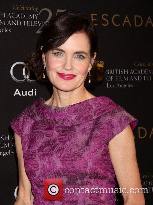 Elizabeth Mcgovern and Bafta