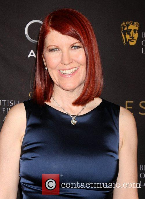 Kate Flannery and Bafta
