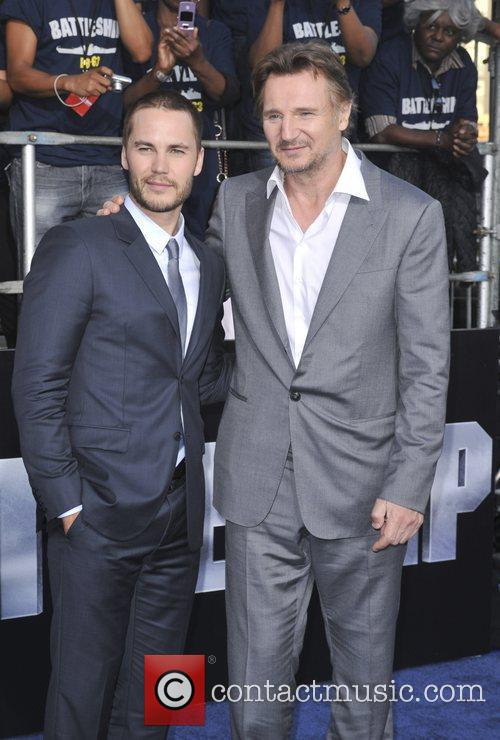 Taylor Kitsch and Liam Neeson 3