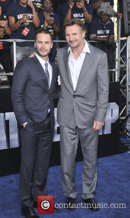 Taylor Kitsch and Liam Neeson 4