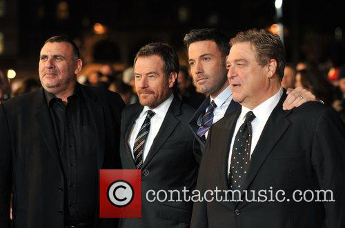 Graham King, Bryan Cranston, Ben Affleck, John Goodman and Odeon Leicester Square