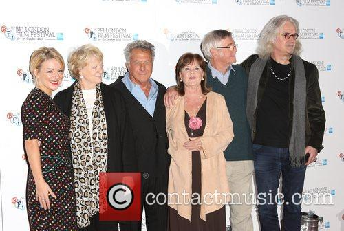 Sheridan Smith, Maggie Smith, Dustin Hoffman, Pauline Collins, Tom Courtney and Billy Connolly 5