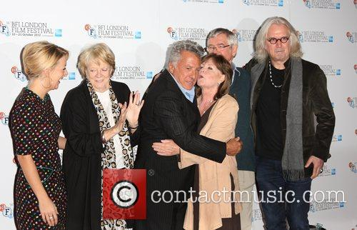 Sheridan Smith, Maggie Smith, Dustin Hoffman, Pauline Collins, Tom Courtney and Billy Connolly 9