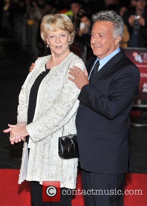 Dustin Hoffman and Dame Maggie Smith 6