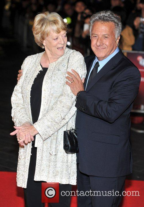 Dustin Hoffman and Dame Maggie Smith 3