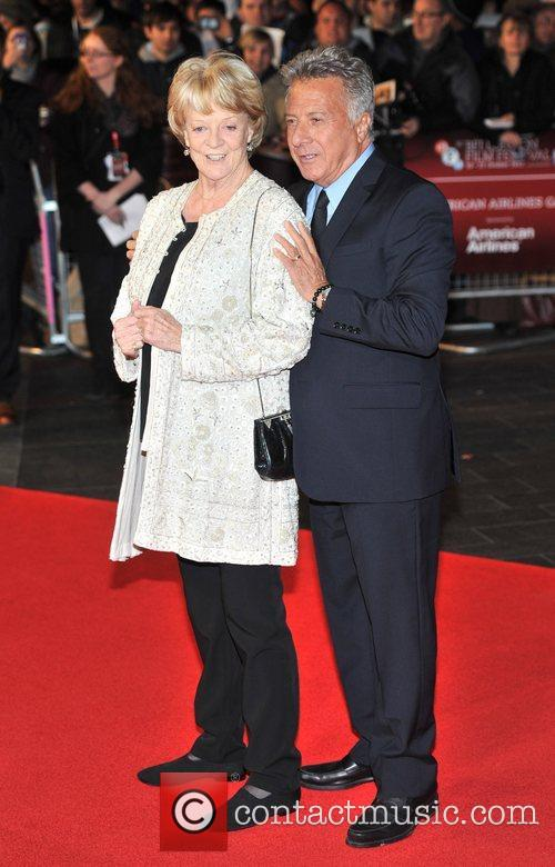 Dustin Hoffman and Dame Maggie Smith 2