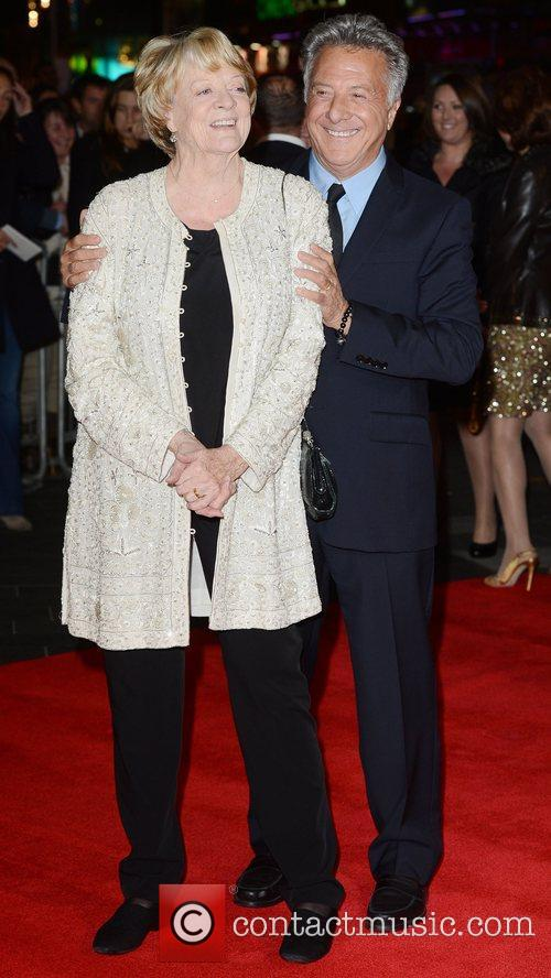 Dustin Hoffman, Maggie Smith, Quartet, Odeon, Leicester Square, London and England 7